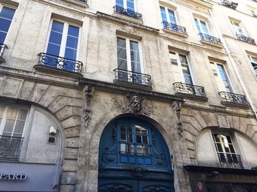La maison Le Tellier : la façade sur rue