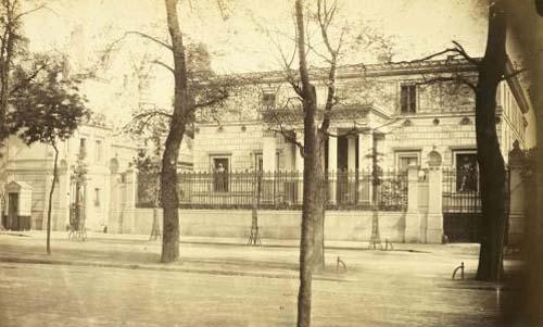 La maison pompéienne : elle a précédé l'hôtel Porgès