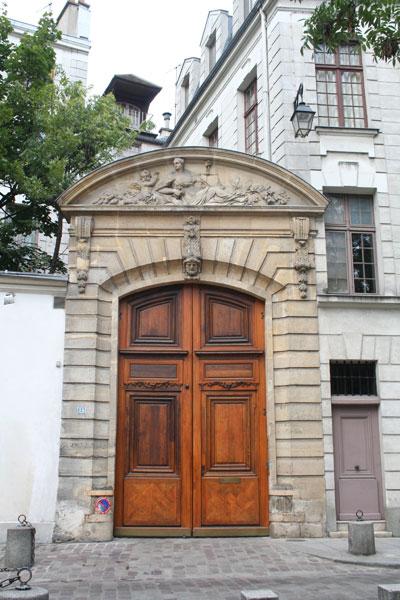 L'hôtel de Laffemas : le portail
