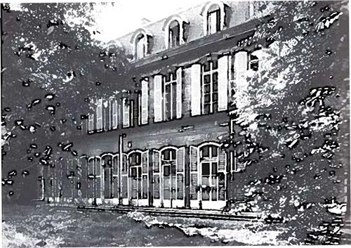 L'hôtel de Vaudreuil : la façade sur le jardin