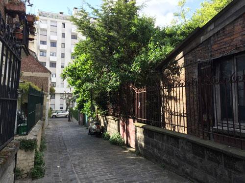 La villa du Borégo
