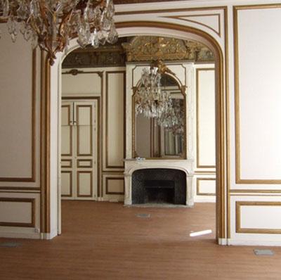 L'hôtel de Waresquiel : le grand salon