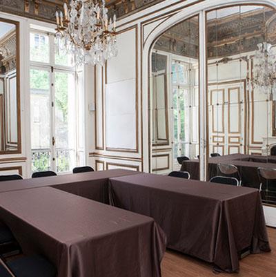 L'hôtel de Waresquiel : le salon Mortier