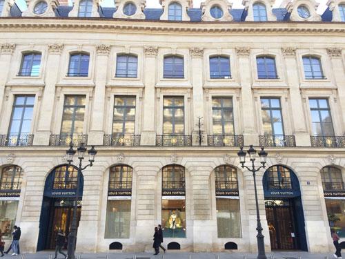 L'hôtel Marquet de Bourgade : c'est aujourd'hui la nouvelle boutique Vuitton