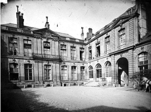 L'hôtel de Mailly-Nesle avant sa démolition