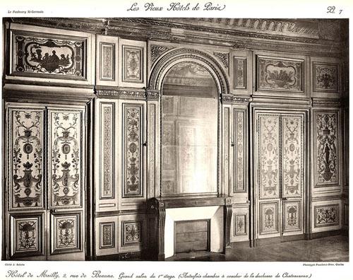 L'hôtel de Mailly-Nesle : l'ancienne chambre à coucher de Madame de Châteauroux