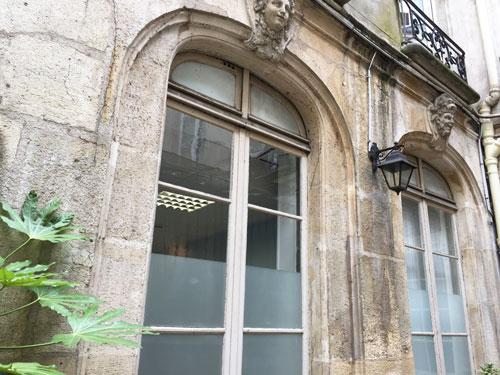 La maison Mariette : façade donnant sur la 2e cour