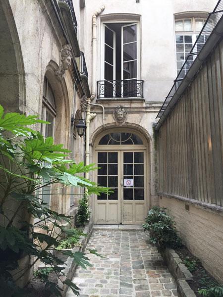 La maison Mariette : la maison occupée par Mariette au fond de la 2e cour