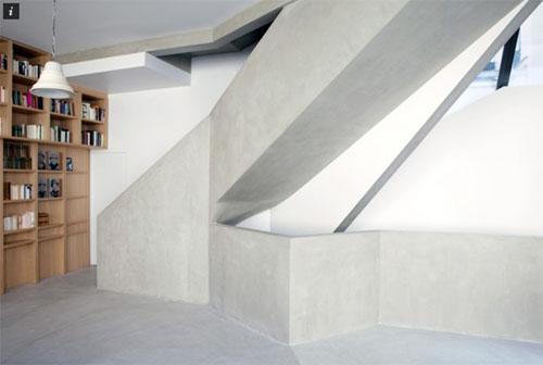 Maison individuelle Rue de Nice : l'un des escaliers