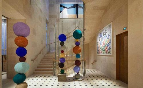 La boutique Louis Vuitton de la place Vendôme