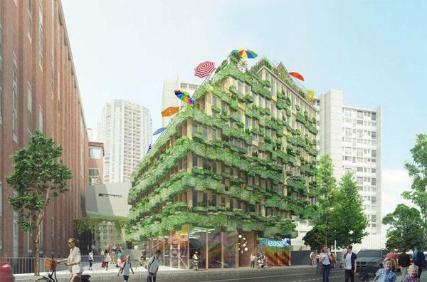 L'immeuble Edison Lite (projet en cours)
