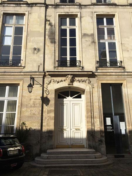 L'hôtel Neyret de La Ravoye : l'entrée du logis