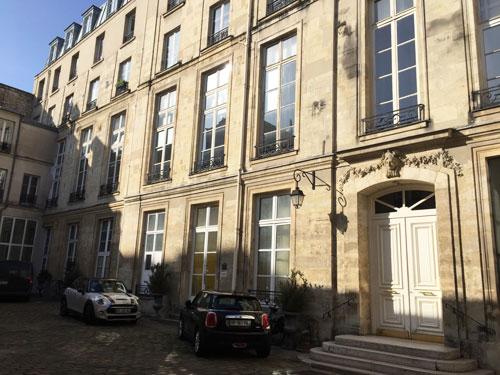 L'hôtel Neyret de La Ravoye : le corps de logis