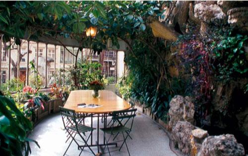 L'hôtel Blémont : le jardin d'hiver