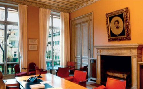 L'hôtel Blémont : l'ancienne salle à manger