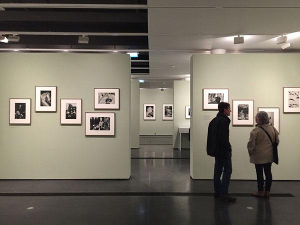La fondation Henri Cartier-Bresson : salle d'exposition
