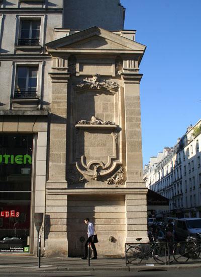 La fontaine Trogneux