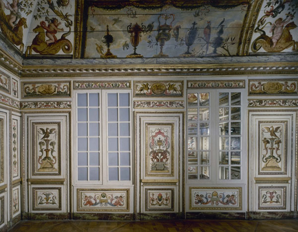 L'hôtel Colbert de Villacerf : le cabinet remonté au musée Carnavalet