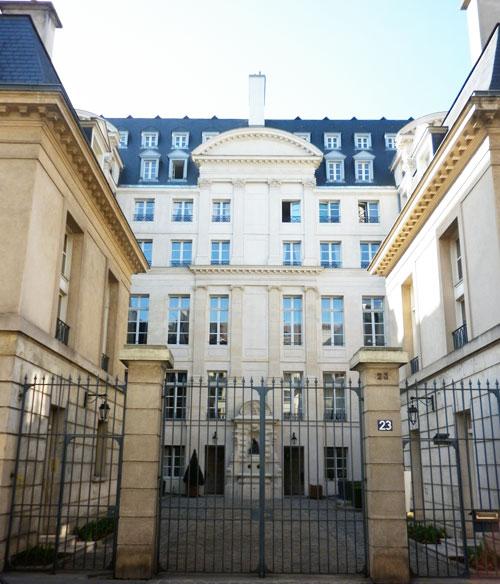 L'hôtel Colbert de Villacerf