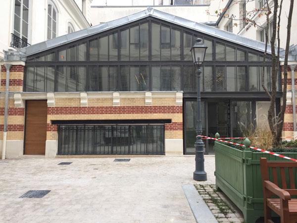 La halle industrielle qui accueillera un studio de danse
