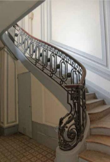 L'hôtel Colmet d'Age : le somptueux escalier du XVIIIe siècle