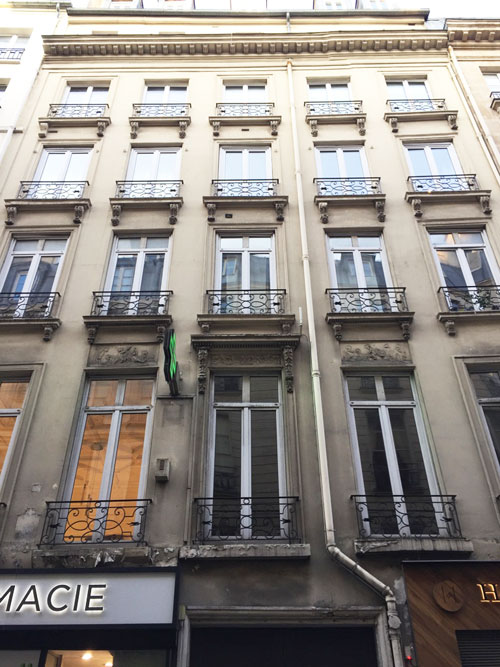 L'hôtel Colmet d'Age : la façade sur rue
