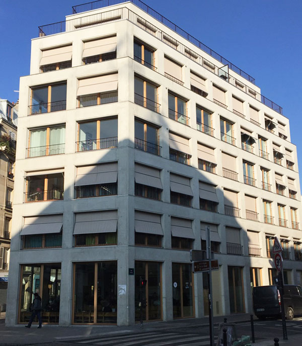 Logements rue Pajol