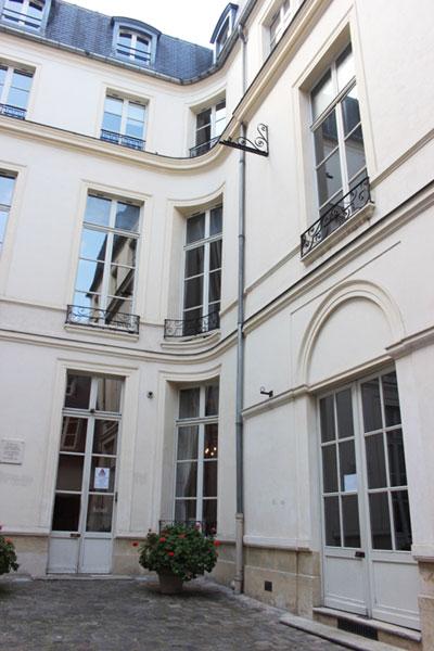 Le petit hôtel d'Avejean : l'aile droite