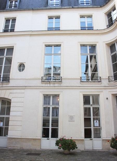 Le petit hôtel d'Avejean : le logis en fond de cour