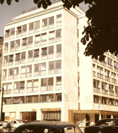 Le siège de Time Life : les façades d'origine