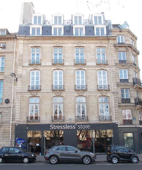 Hôtel Pelletier de Rilly - Façade sur le quai de la Tournelle
