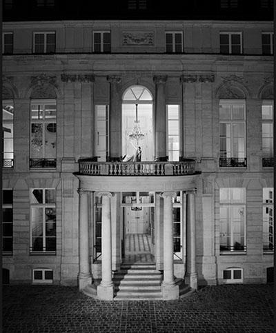 L'Hôtel de Sénecterre : la façade sur cour