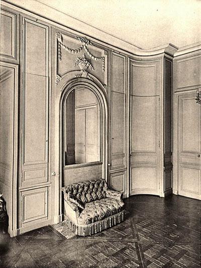 L'Hôtel de Sénecterre (photographie ancienne)