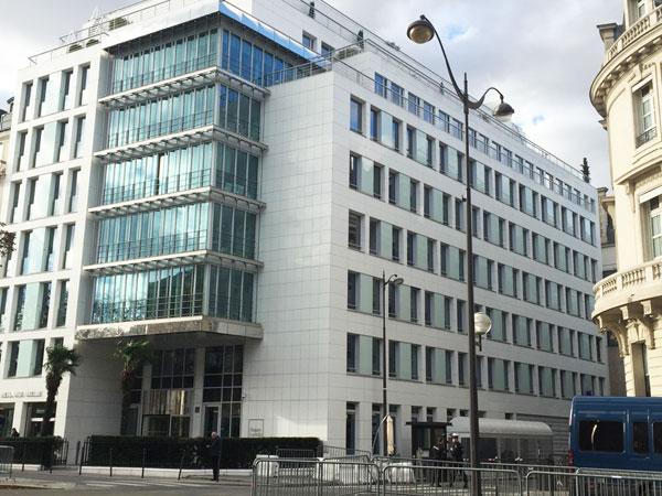 L'ex-immeuble de Time Life : façades actuelles