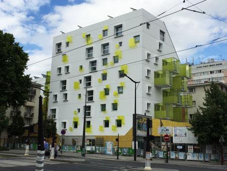 Logements sociaux Boulevard Davout