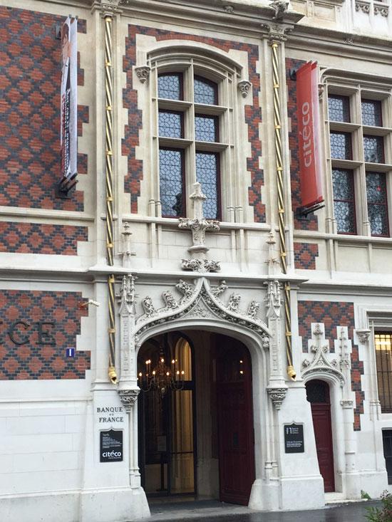 L'hôtel Gaillard : le portail