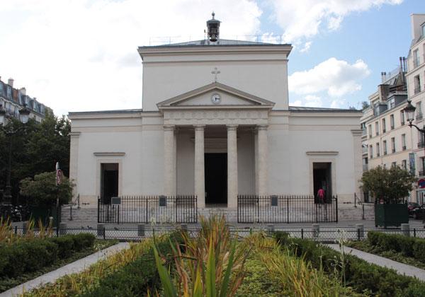 L'église des Batignolles