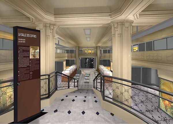 L'hôtel Gaillard : l'ancienne salle des coffres