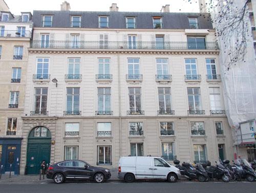 L'hôtel du président d'Erceville - La façade sur le quai de la Tournelle
