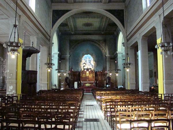 L'église Sainte-Marie des Batignolles : la nef