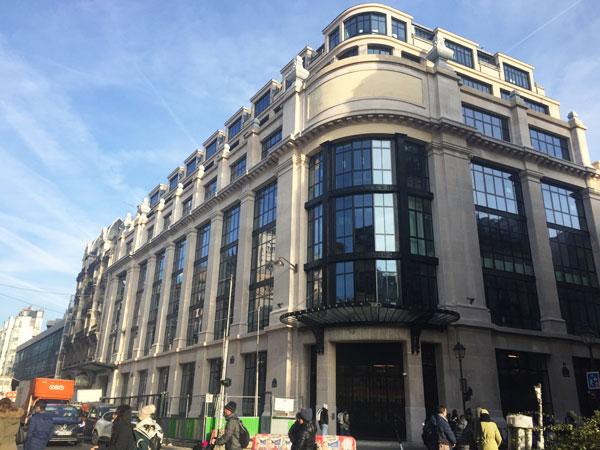 L'ex-immeuble du Crédit Commercial de France