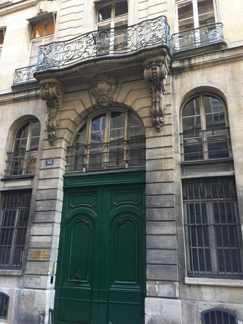 L'hôtel de Fontenay : l'immeuble Claustrier