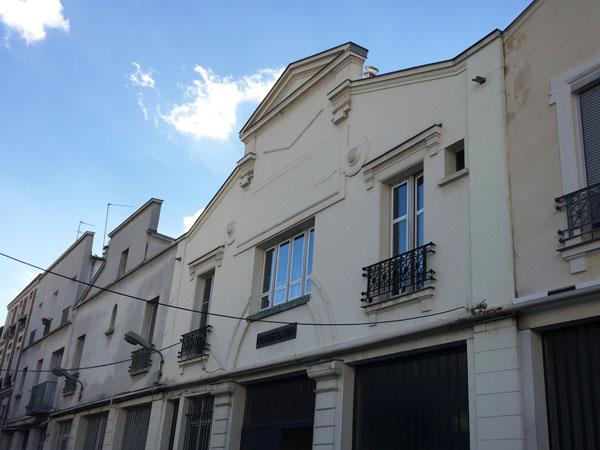La villa Riberolle : anciens ateliers industriels