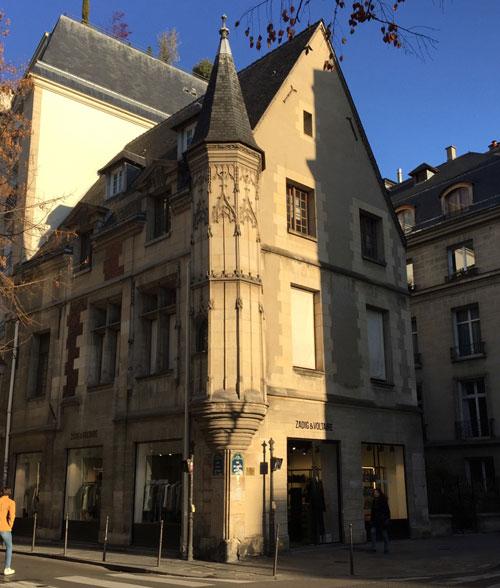 L'hôtel Hérouet : la tourelle d'angle