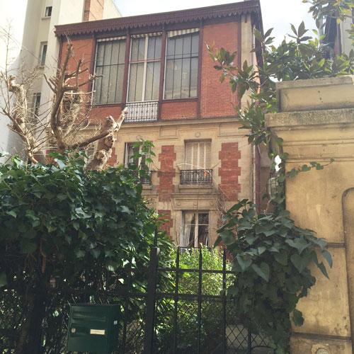 Maisons-atelier Rue de La Rochefoucauld