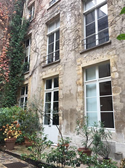 L'hôtel de La Grange Trianon : l'aile droite