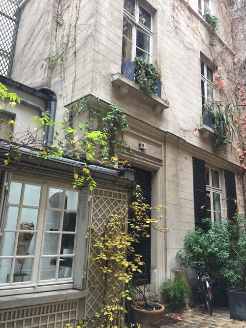 L'hôtel de La Grange Trianon : l'aile gauche