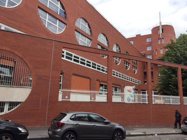 L'école maternelle rue Duhesme