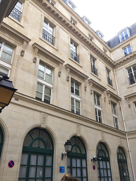 L'hôtel Feydeau de Brou : l'aile gauche