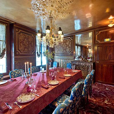 Le restaurant La Pérouse